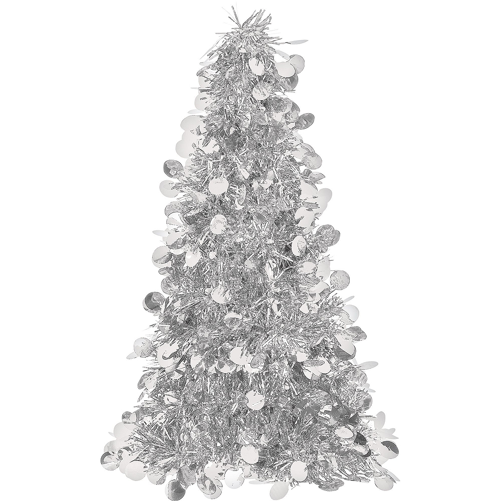 Silver Christmas Table & Mirror Decorating Kit Image #4