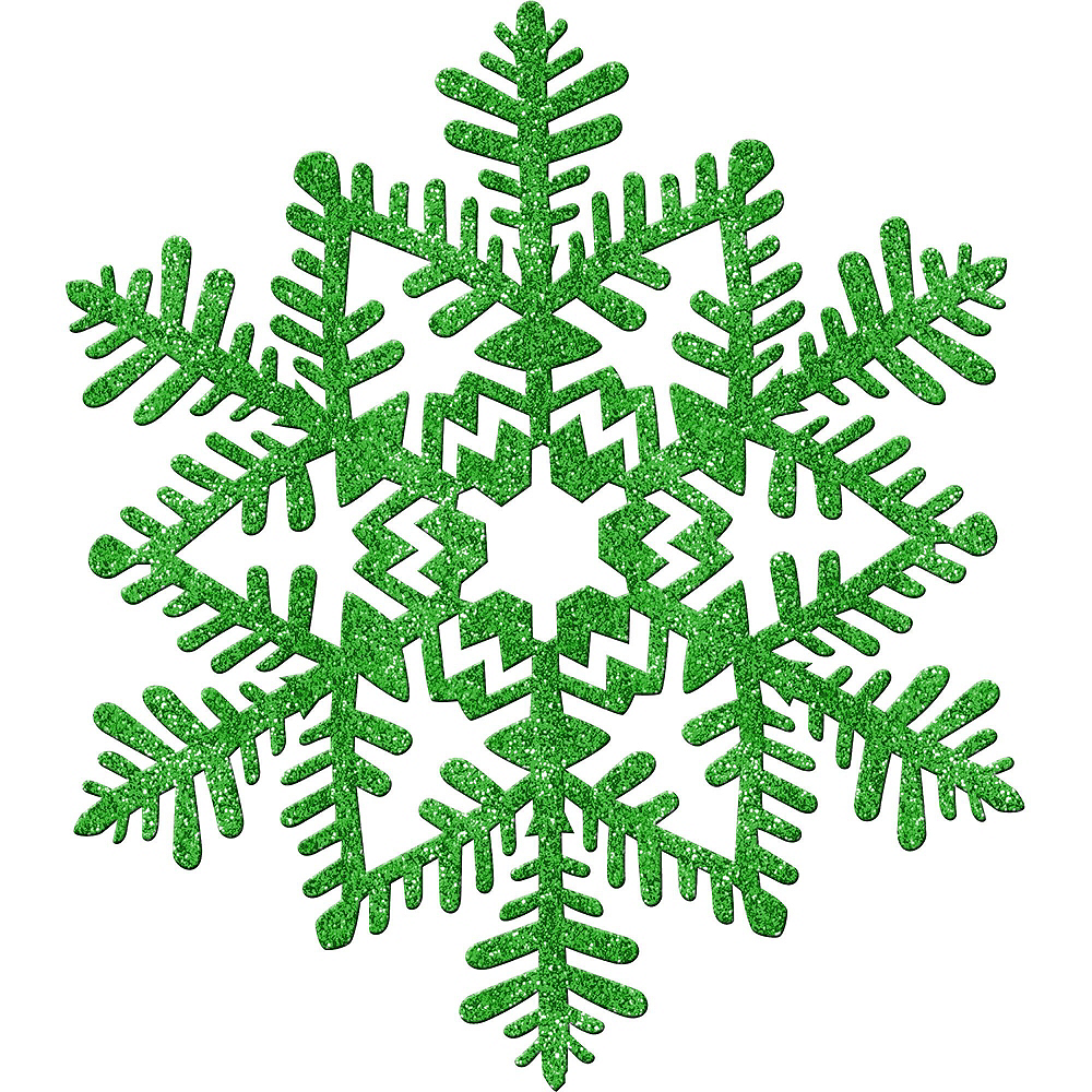 Green Christmas Table & Mirror Decorating Kit Image #3