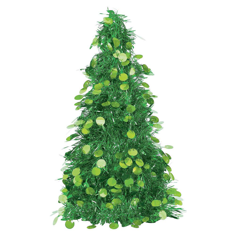 Green Christmas Table & Mirror Decorating Kit Image #4