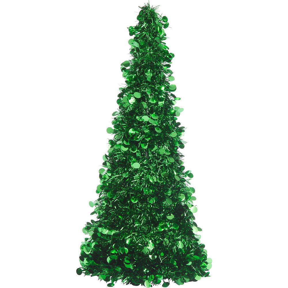 Green Christmas Table & Mirror Decorating Kit Image #5