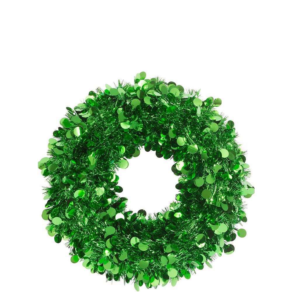 Green Christmas Table & Mirror Decorating Kit Image #6