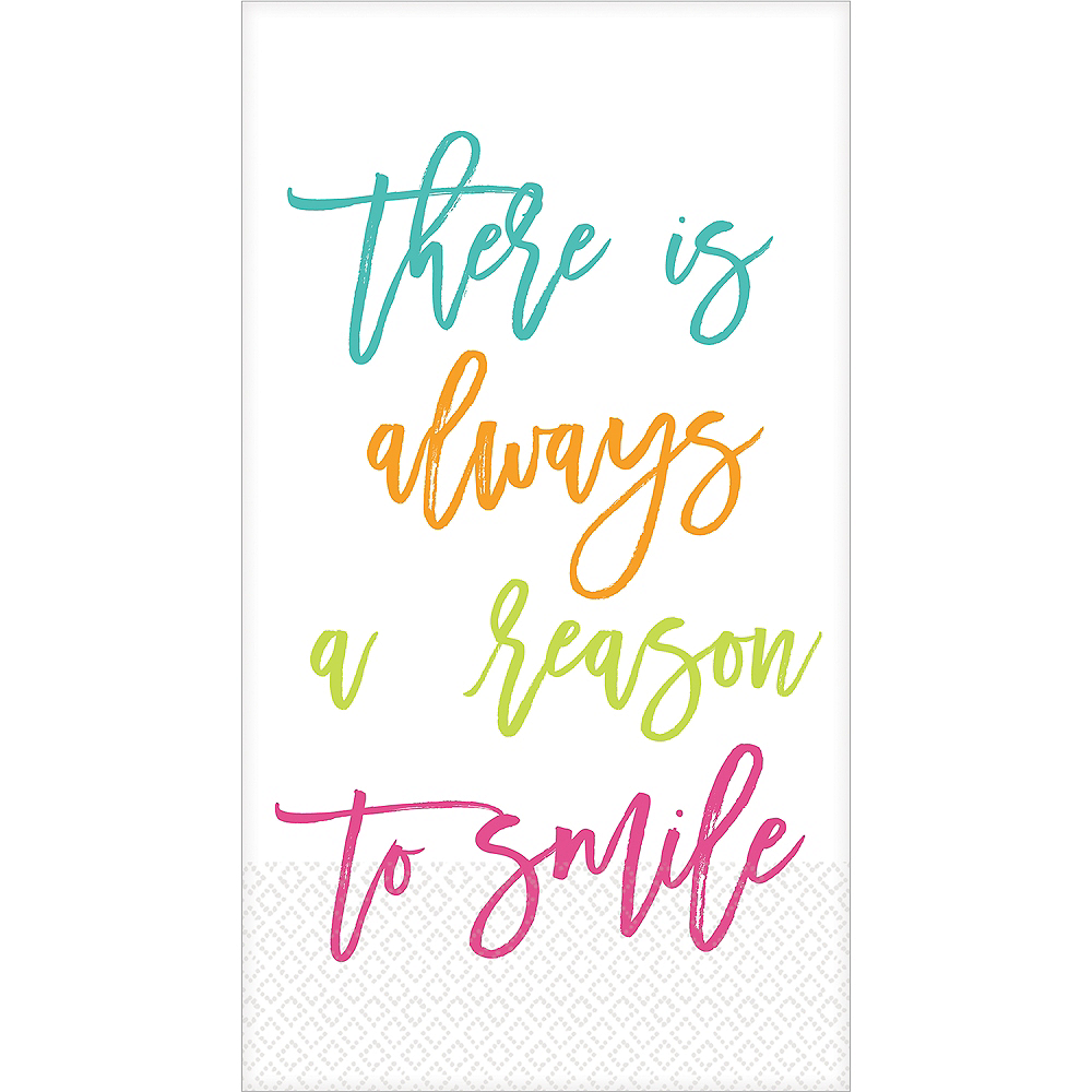 Reason to Smile Guest Towels 16ct Image #1