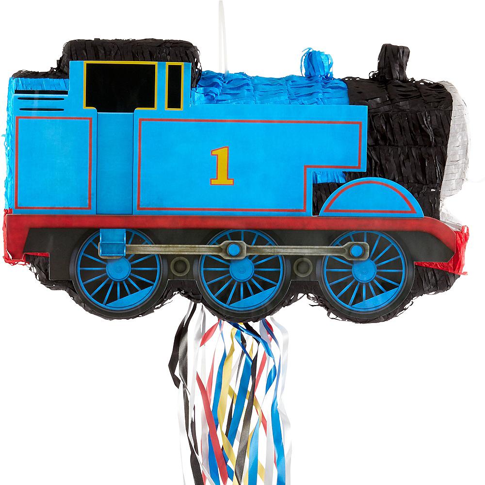 Pull String Thomas the Tank Engine Train Pinata Image #1