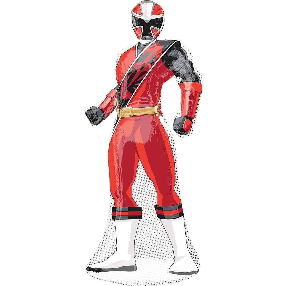 Giant Red Ranger Balloon - Power Rangers Ninja Steel Image #1