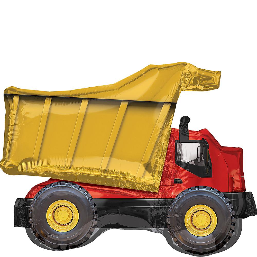 Giant Dump Truck Balloon 32in x 25in Image #1