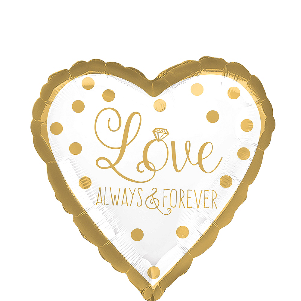 Love Always & Forever Balloon, 18in Image #1
