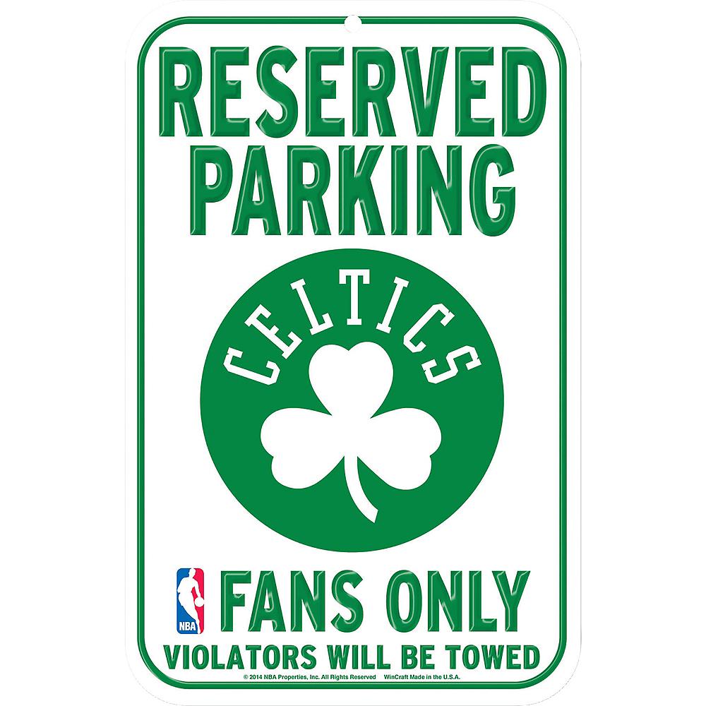 Reserved Parking Boston Celtics Sign Image #1