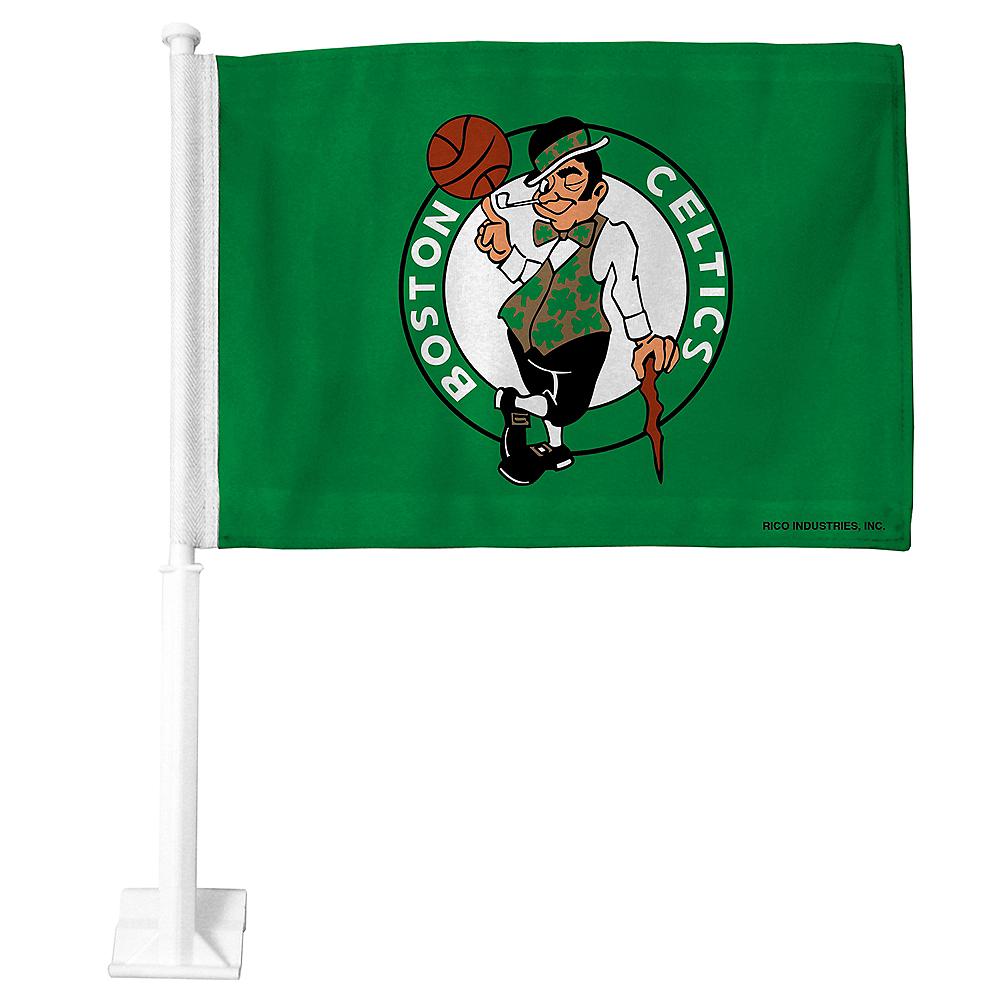 Boston Celtics Car Flag Image #1