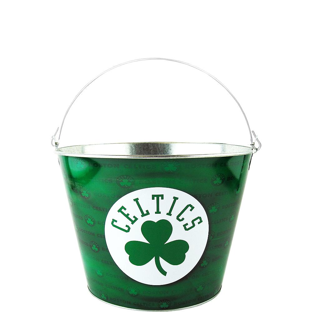 Boston Celtics Galvanized Bucket Image #1