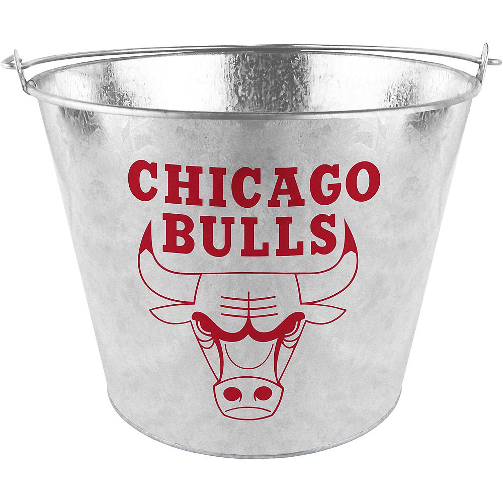 Chicago Bulls Galvanized Bucket Image #1