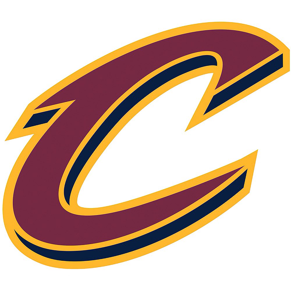 Cleveland Cavaliers Cling Decal Image #1