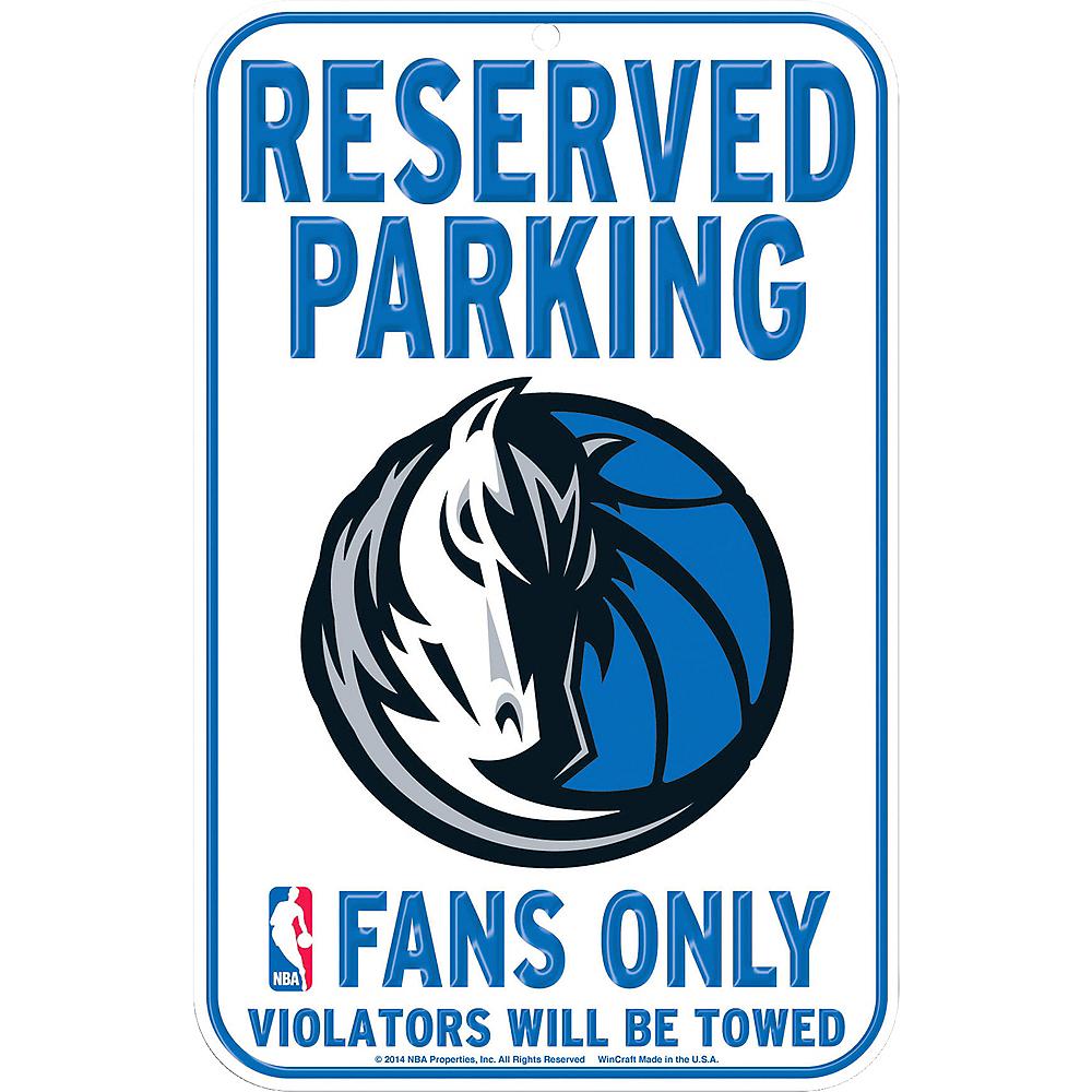 Reserved Parking Dallas Mavericks Sign Image #1