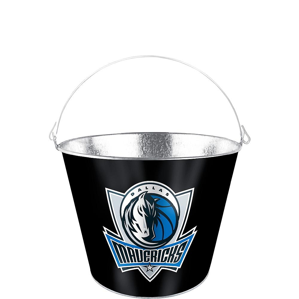 Dallas Mavericks Galvanized Bucket Image #1