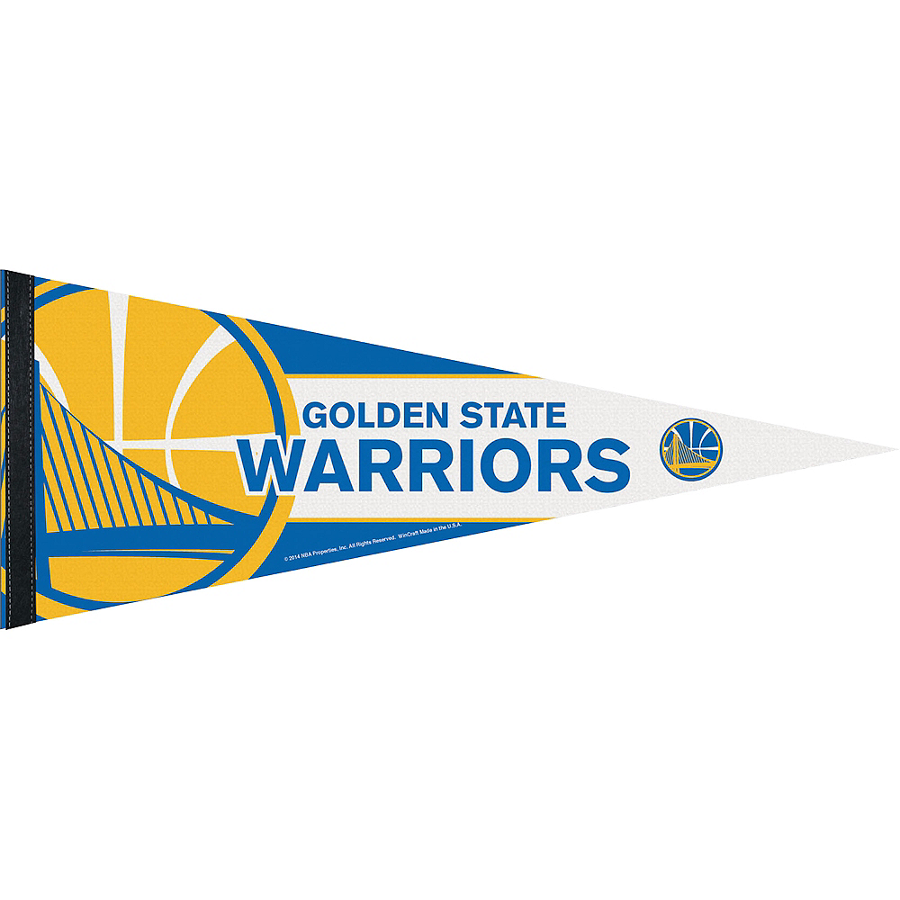 Golden State Warriors Pennant Flag Image #1