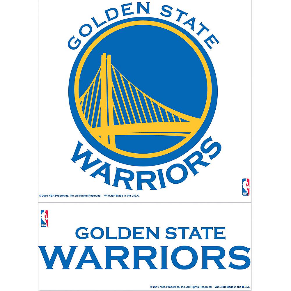 Golden State Warriors Decals 2ct Image #1