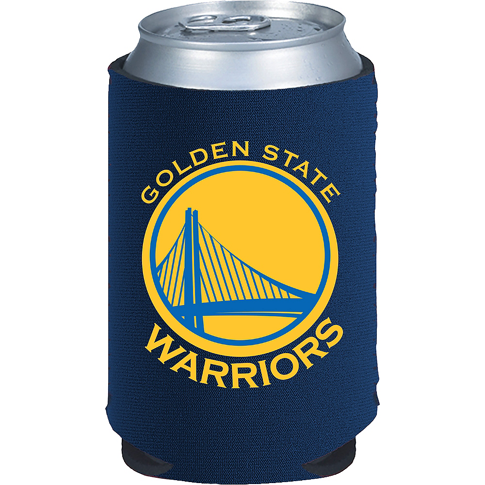 Golden State Warriors Can Coozie Image #1