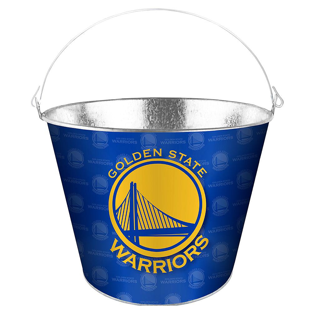 Golden State Warriors Galvanized Bucket Image #1