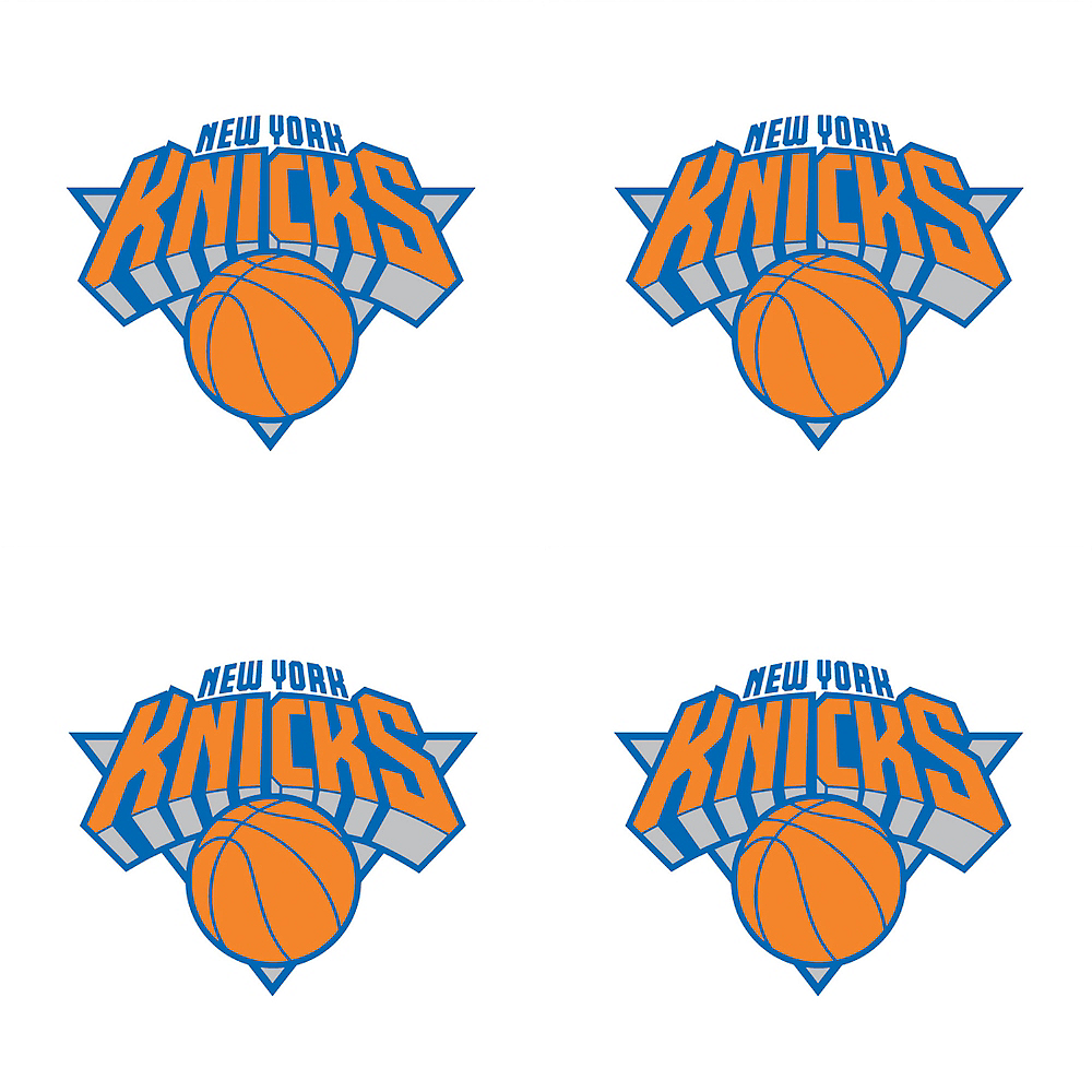 New York Knicks Face Tattoos 4ct Image #1