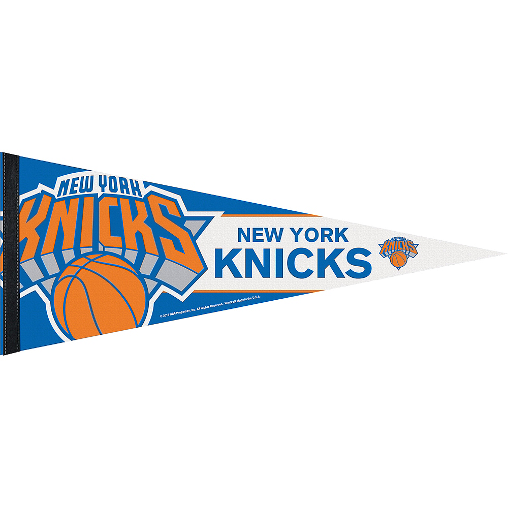 New York Knicks Pennant Flag Image #1