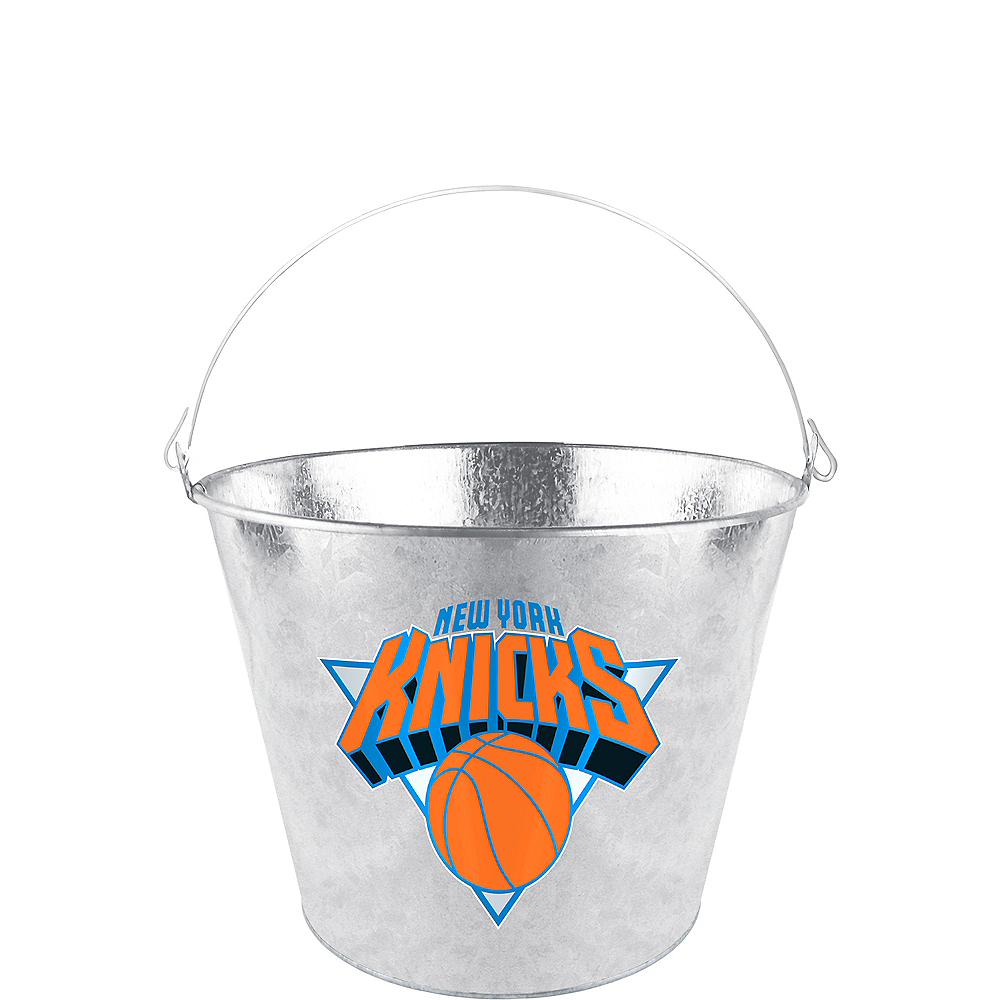 New York Knicks Galvanized Bucket Image #1