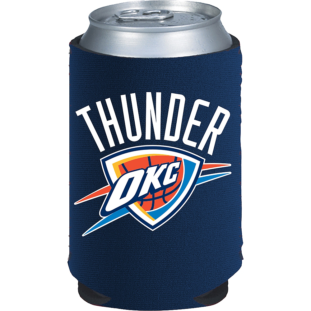 Oklahoma City Thunder Can Coozie Image #1