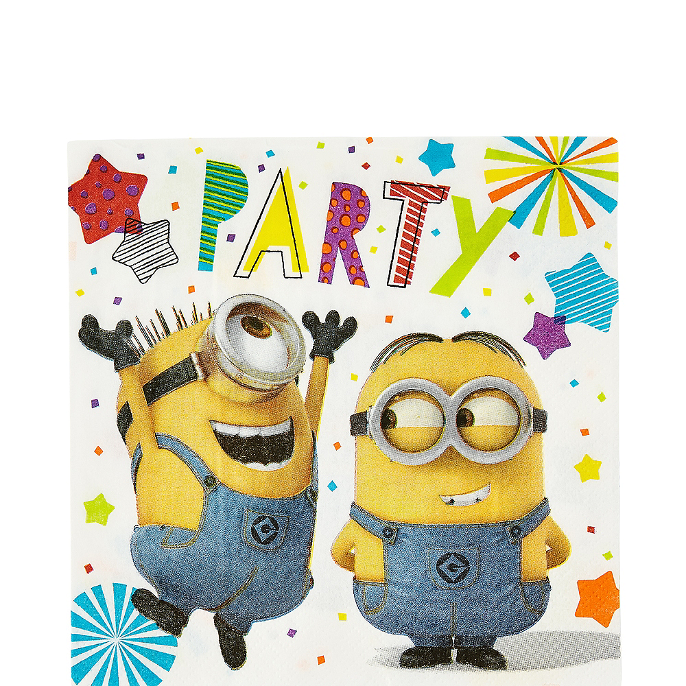 Minions Lunch Napkins 16ct Image #1