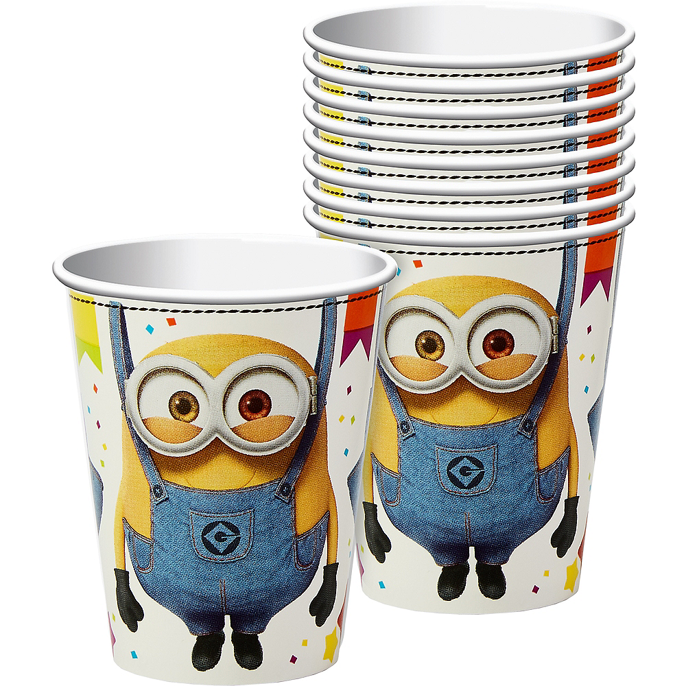 Minions Cups 8ct Image #1