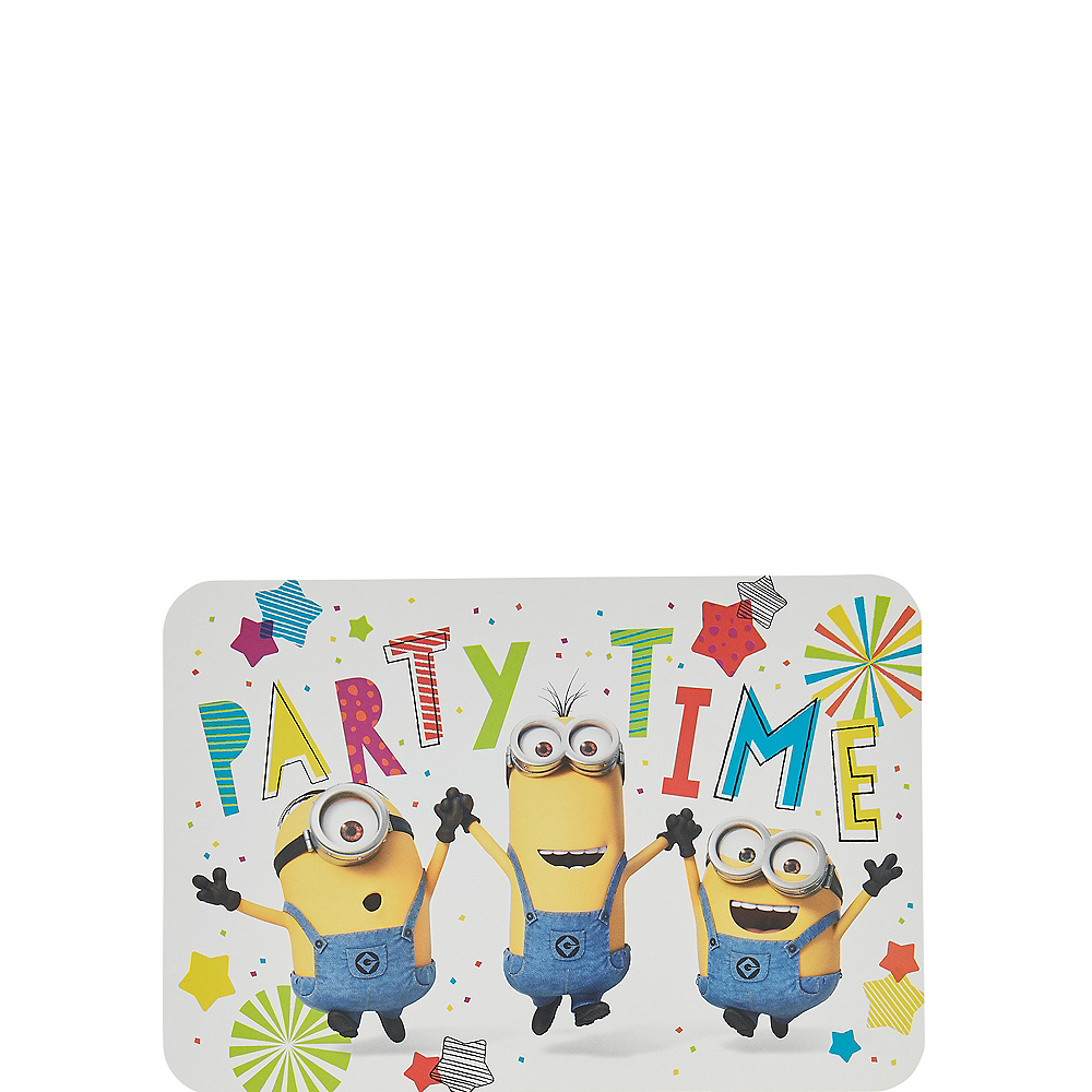 Nav Item for Minions Invitations 8ct Image #1
