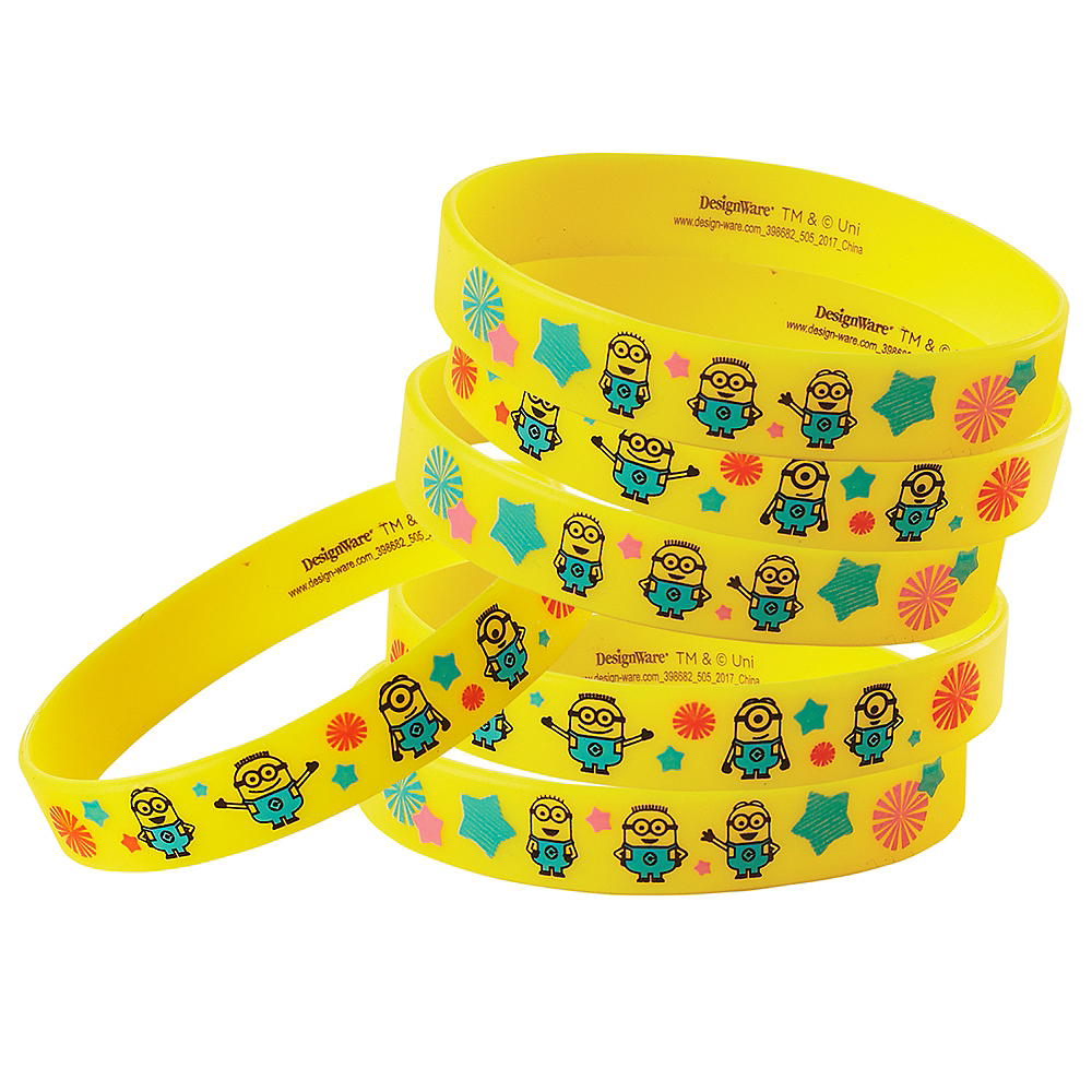 Nav Item for Minions Wristbands 6ct Image #1