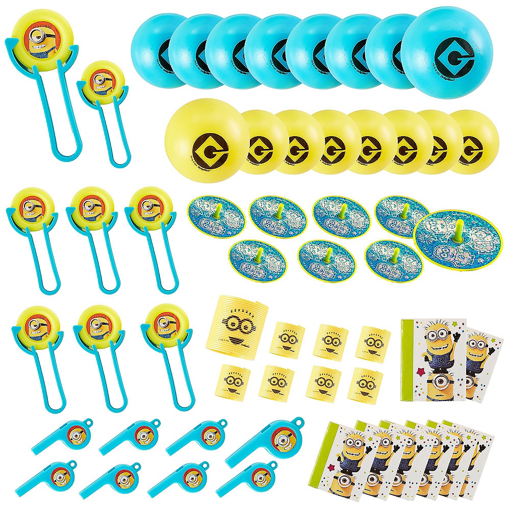 Minions Favor Pack 48pc Image #1