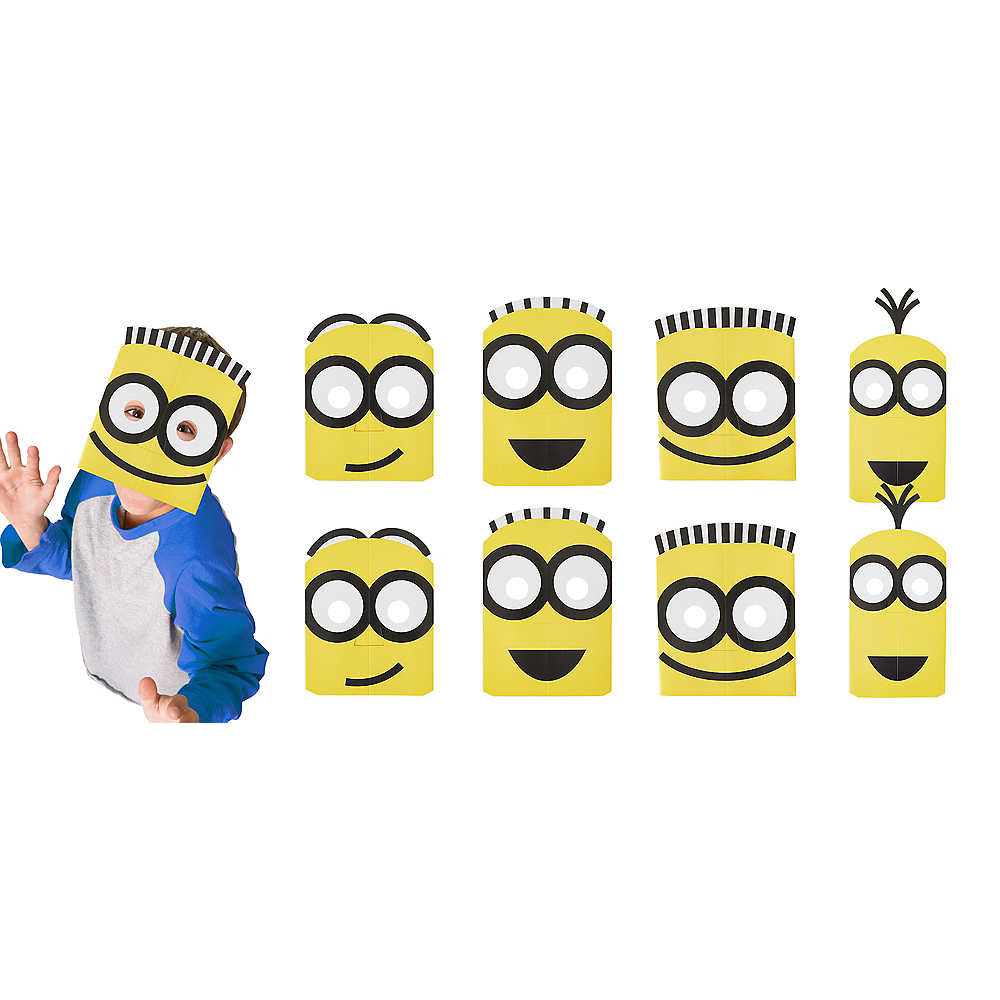 Nav Item for Minions Masks 8ct Image #1