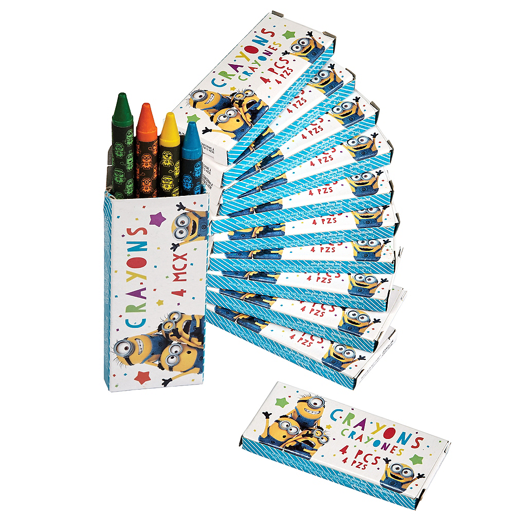 Nav Item for Minions Crayon Boxes 12ct Image #1