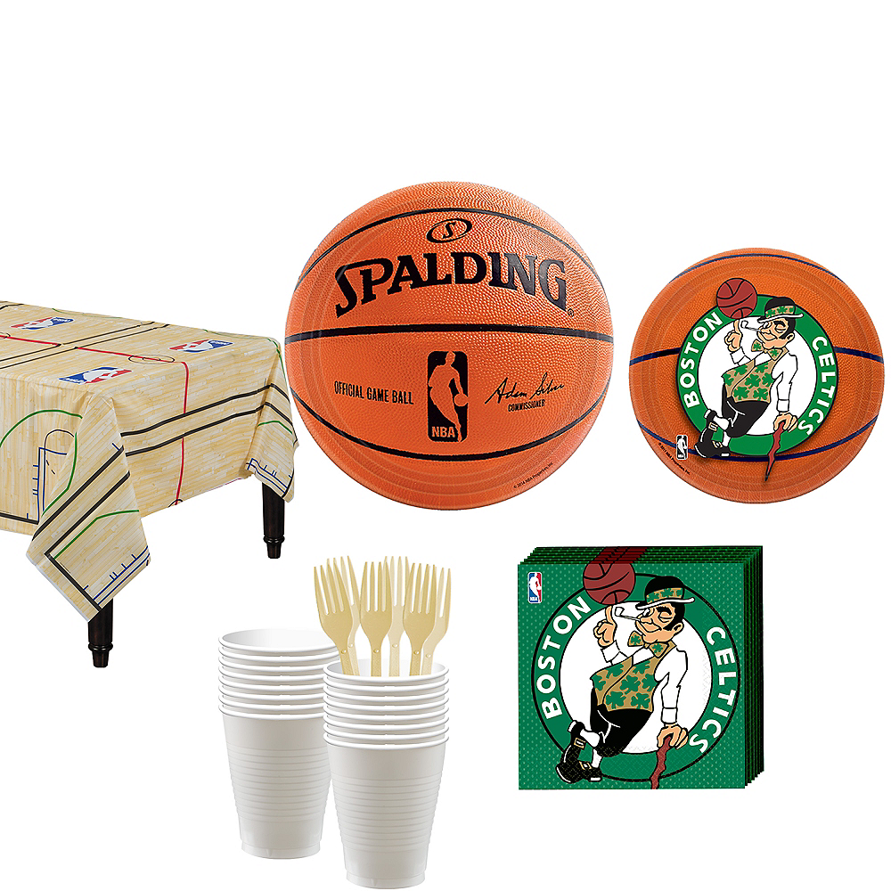 Nav Item for Boston Celtics Party Kit 16 Guests Image #1