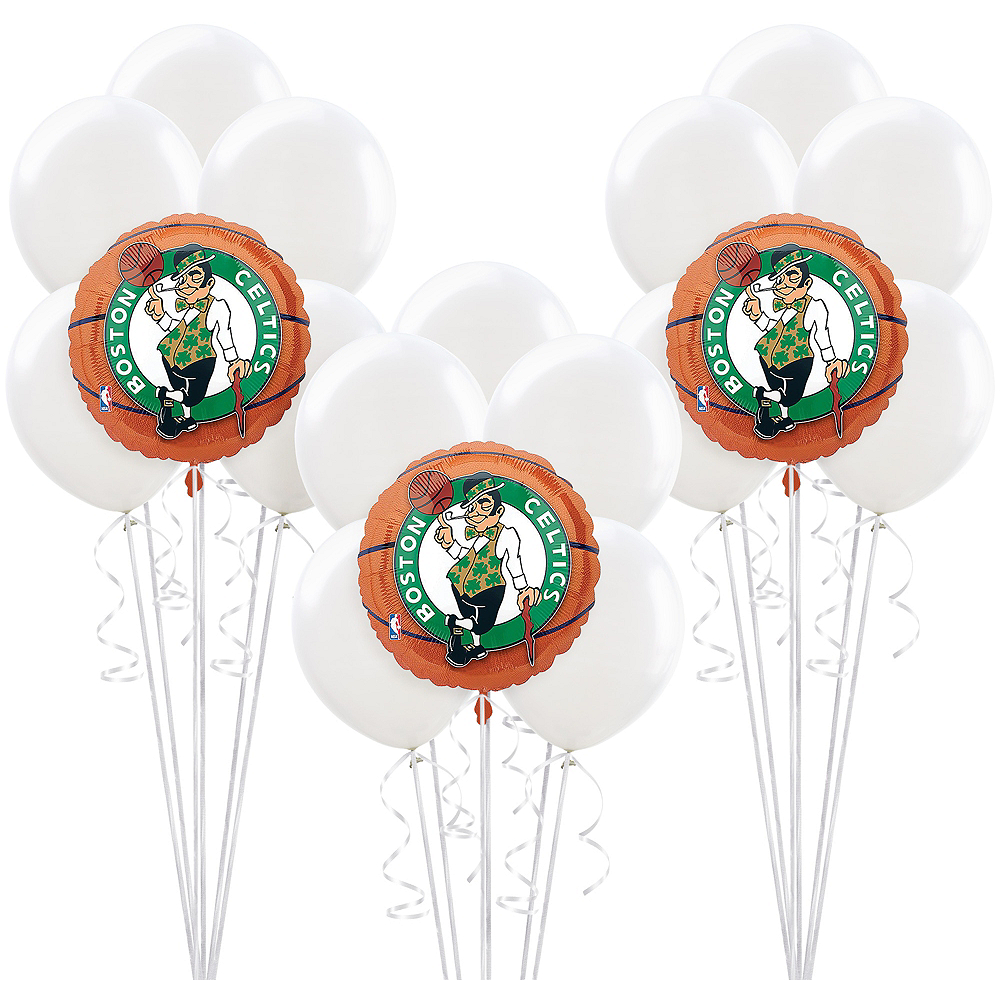 Boston Celtics Balloon Kit Basketball Nba Teams Party City