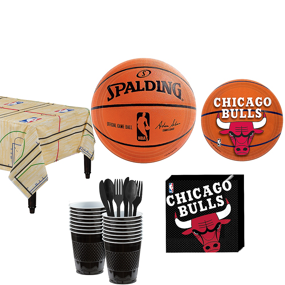 Chicago Bulls Party Kit 16 Guests Image #1