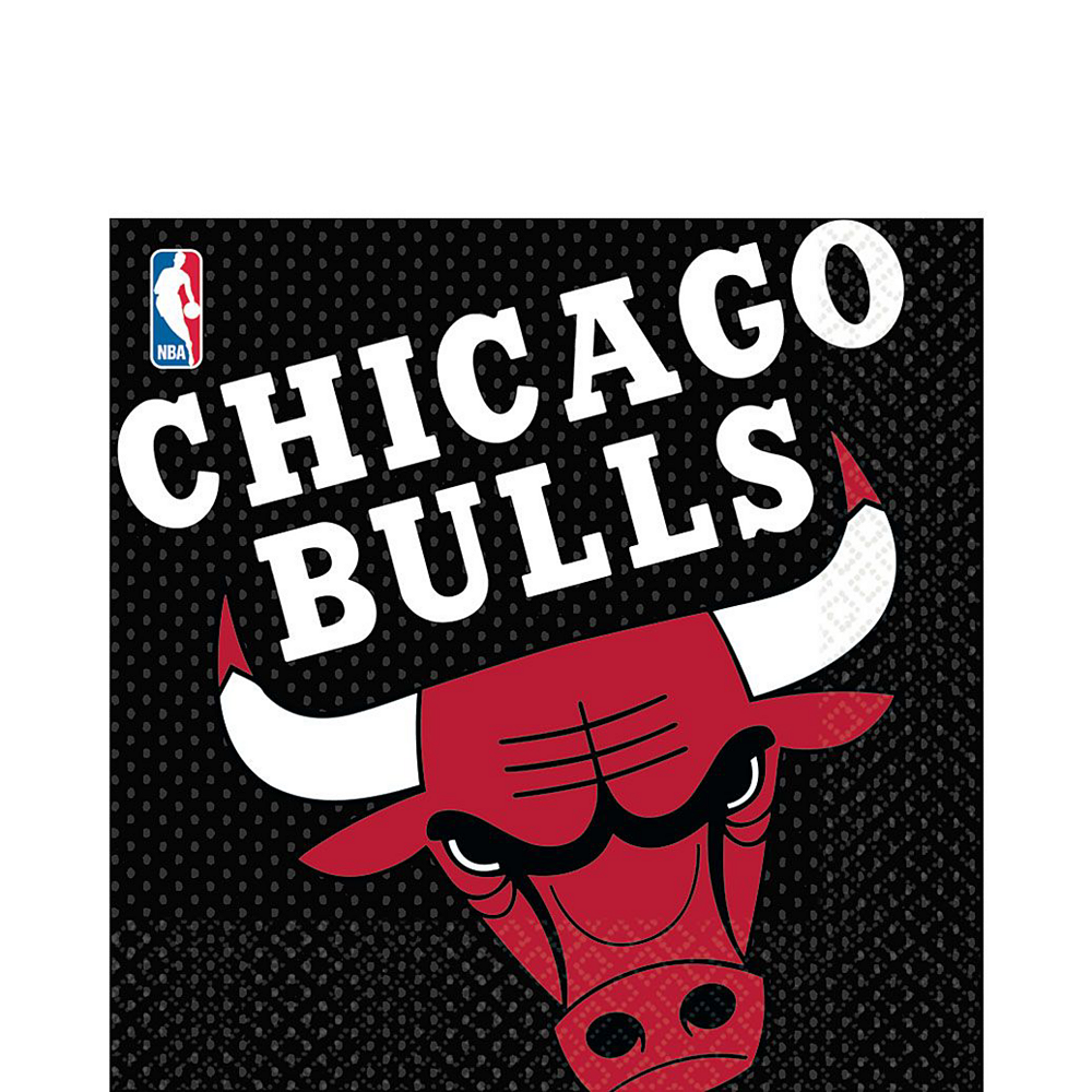 Chicago Bulls Party Kit 16 Guests Image #4