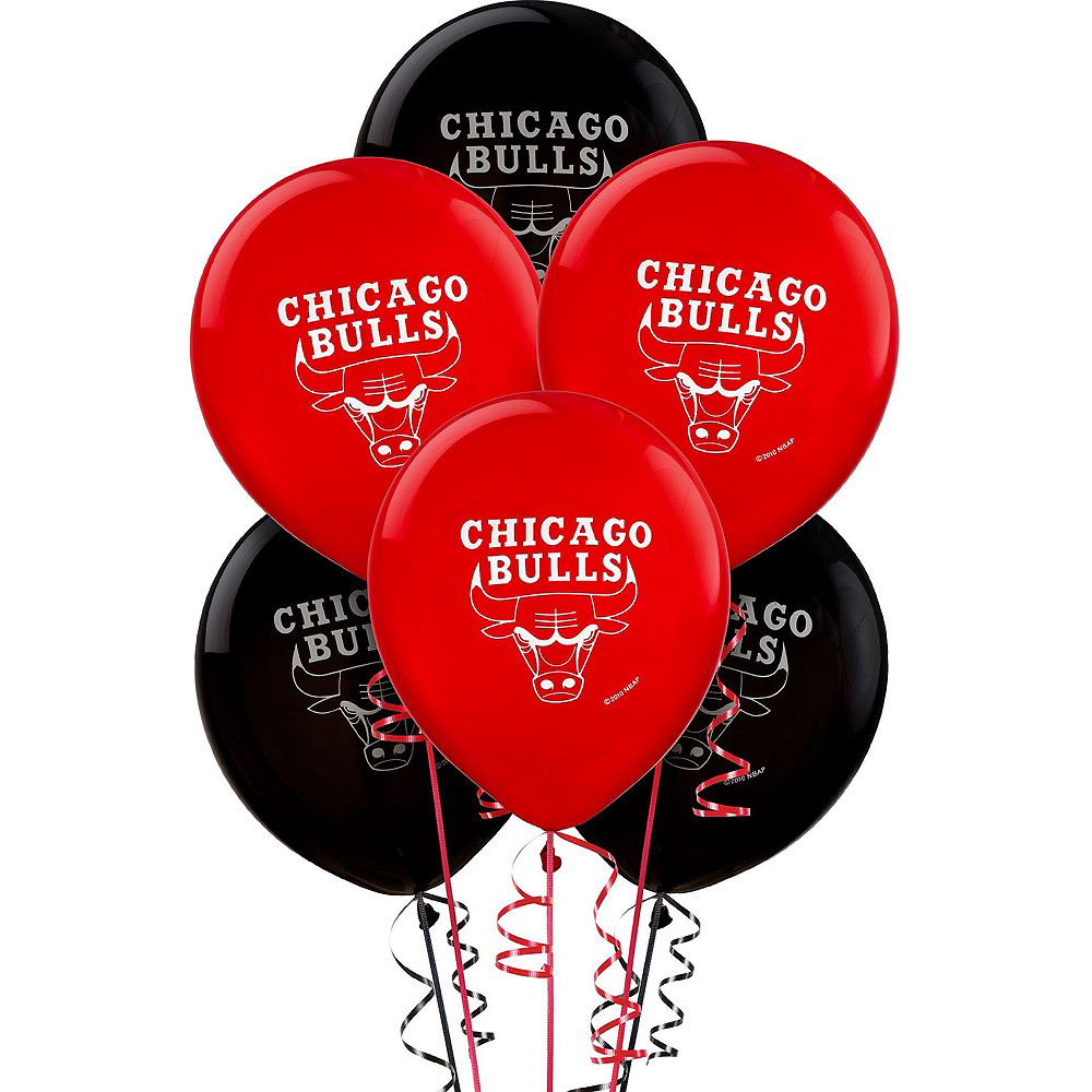 Super Chicago Bulls Party Kit 16 Guests Image #10