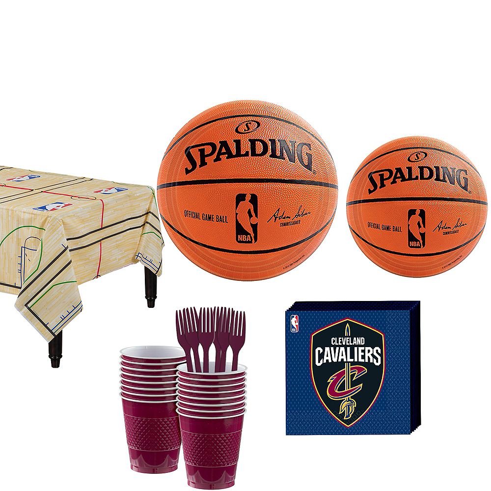 Cleveland Cavaliers Party Kit 16 Guests Image #1