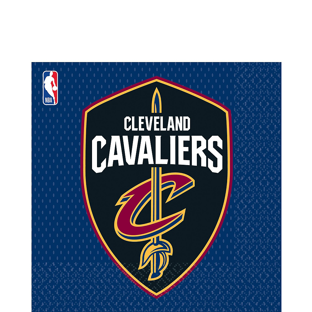 Cleveland Cavaliers Party Kit 16 Guests Image #4
