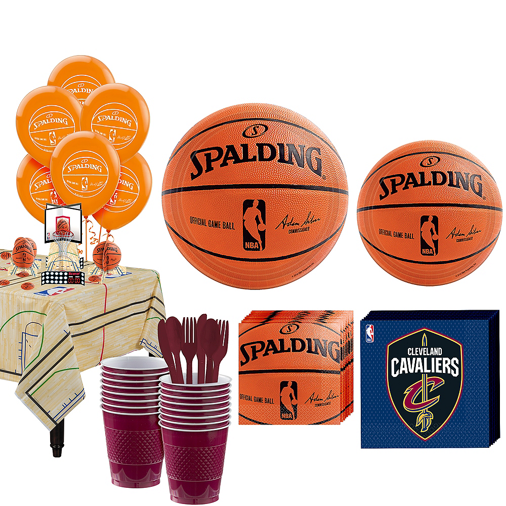 Super Cleveland Cavaliers Party Kit 16 Guests Image #1