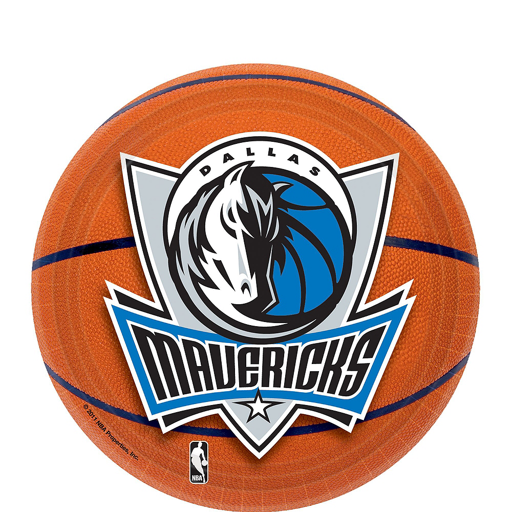 Super Dallas Mavericks Party Kit 16 Guests Image #2