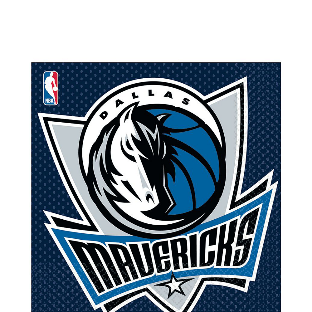 Super Dallas Mavericks Party Kit 16 Guests Image #5