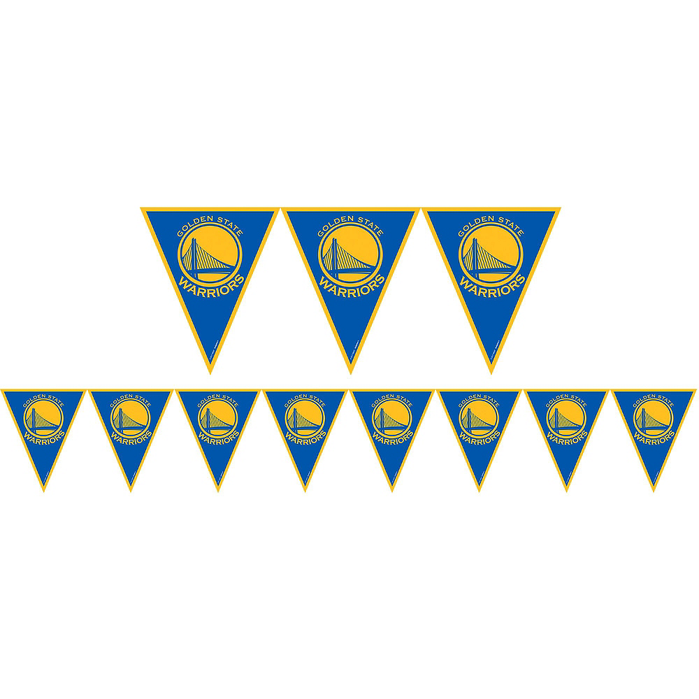 Super Golden State Warriors Party Kit 16 Guests Image #9
