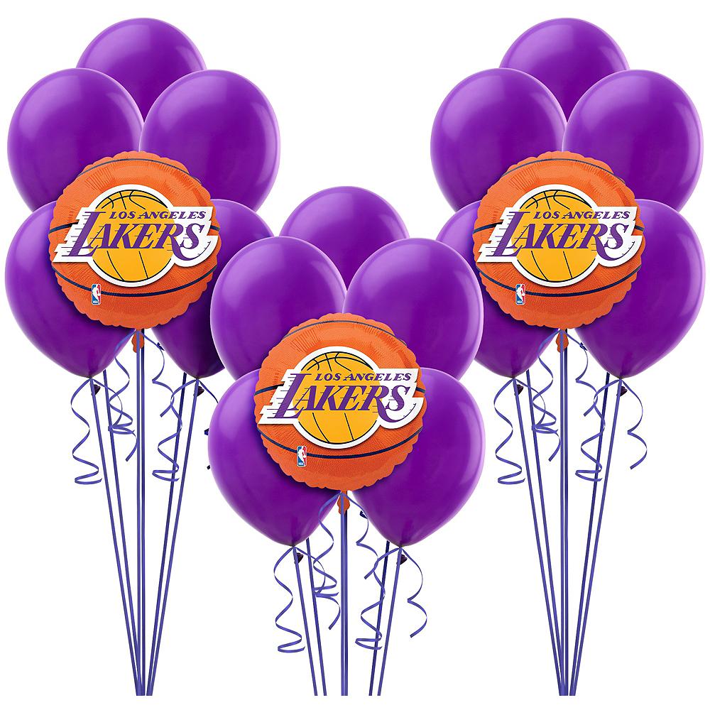 Los Angeles Lakers Balloon Kit Image #1