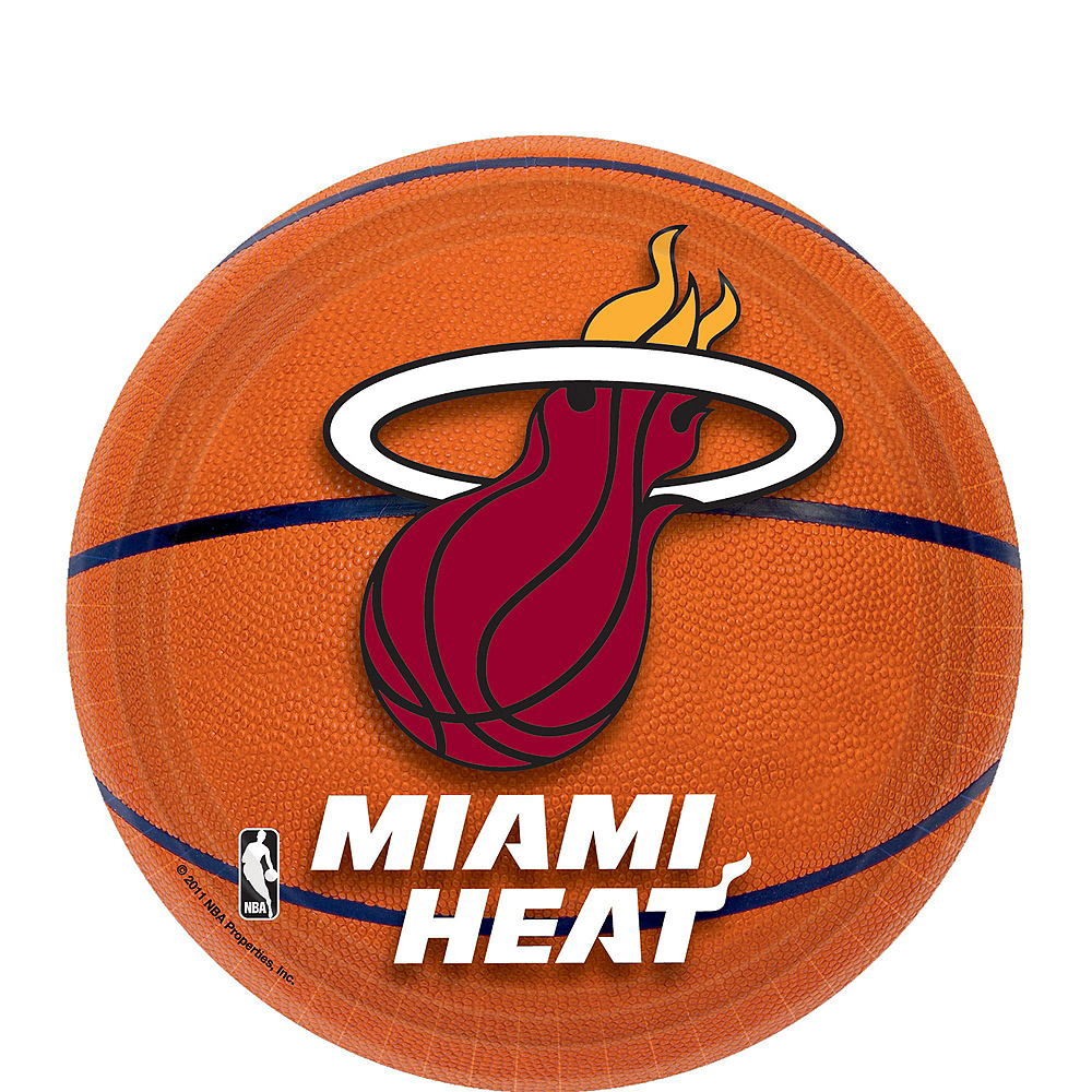 Super Miami Heat Party Kit 16 Guests Image #2