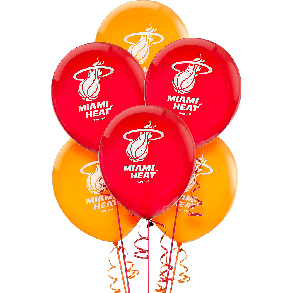Super Miami Heat Party Kit 16 Guests Image #11