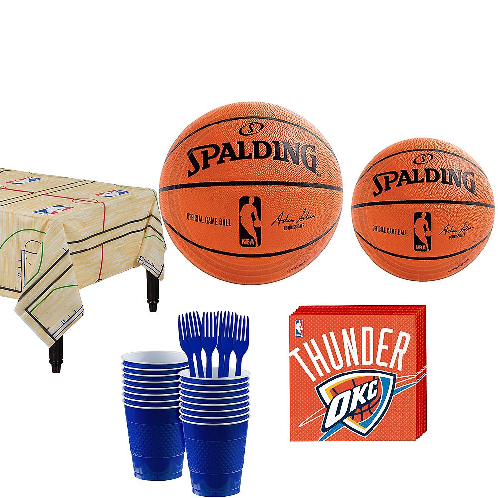 Oklahoma City Thunder Party Kit 16 Guests Image #1