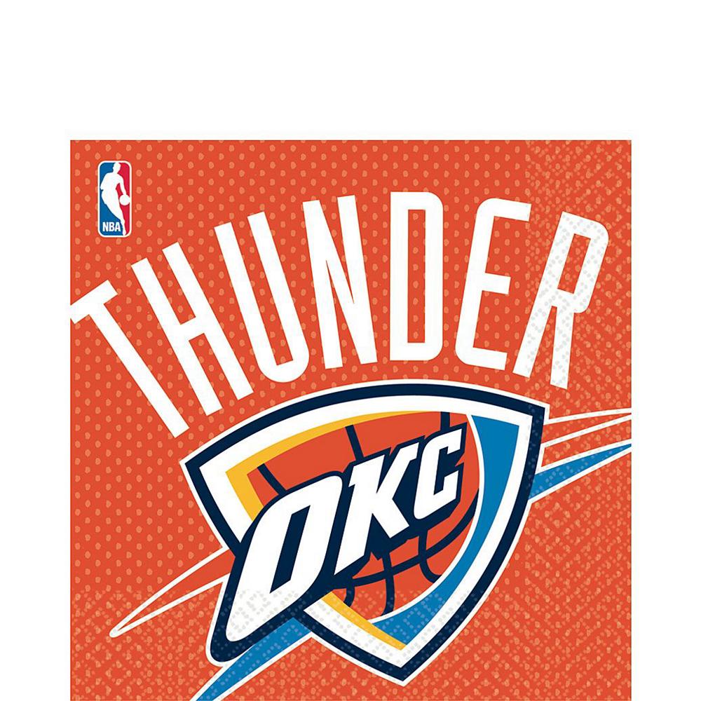 Super Oklahoma City Thunder Party Kit 16 Guests Image #5