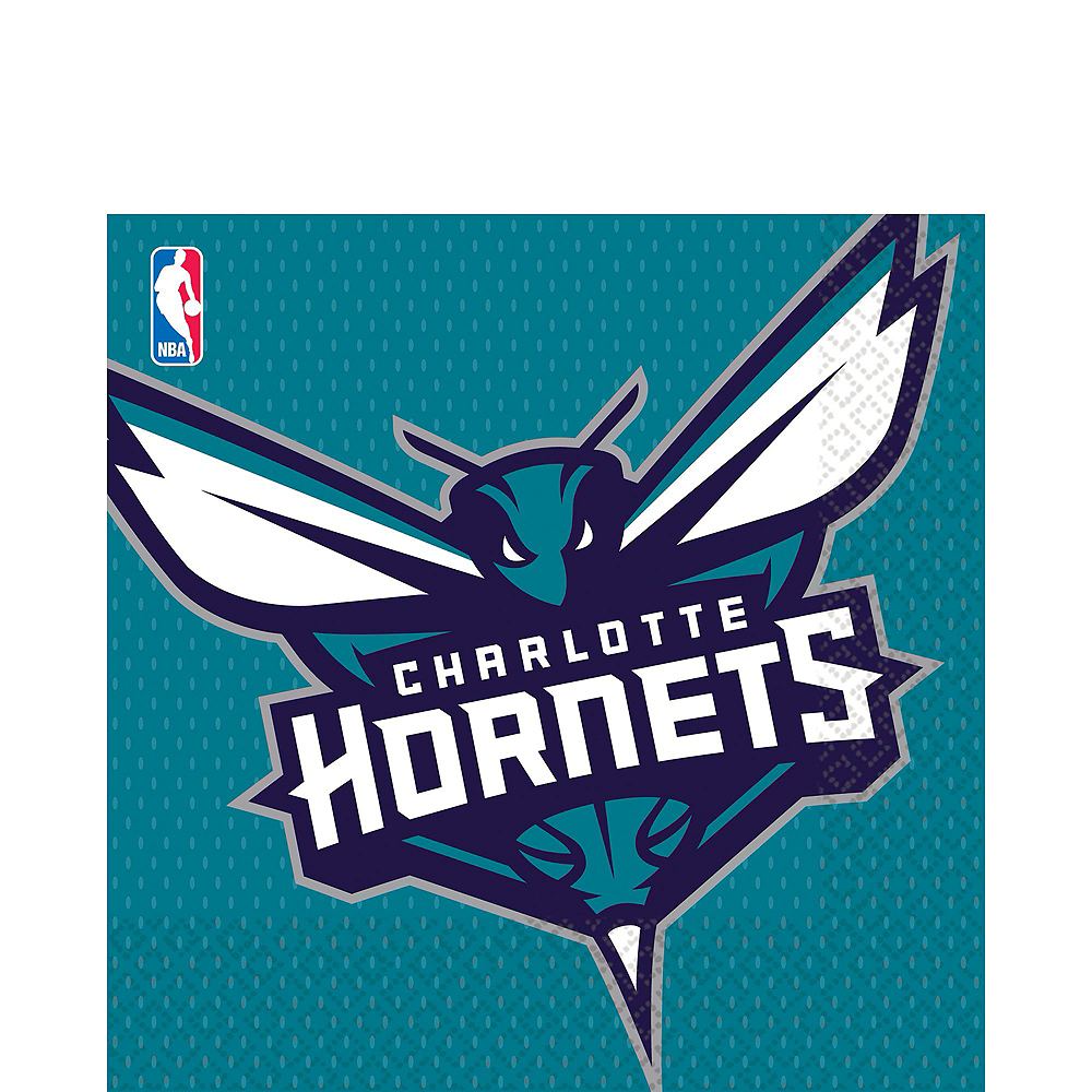 Charlotte Hornets Party Kit 16 Guests Image #4
