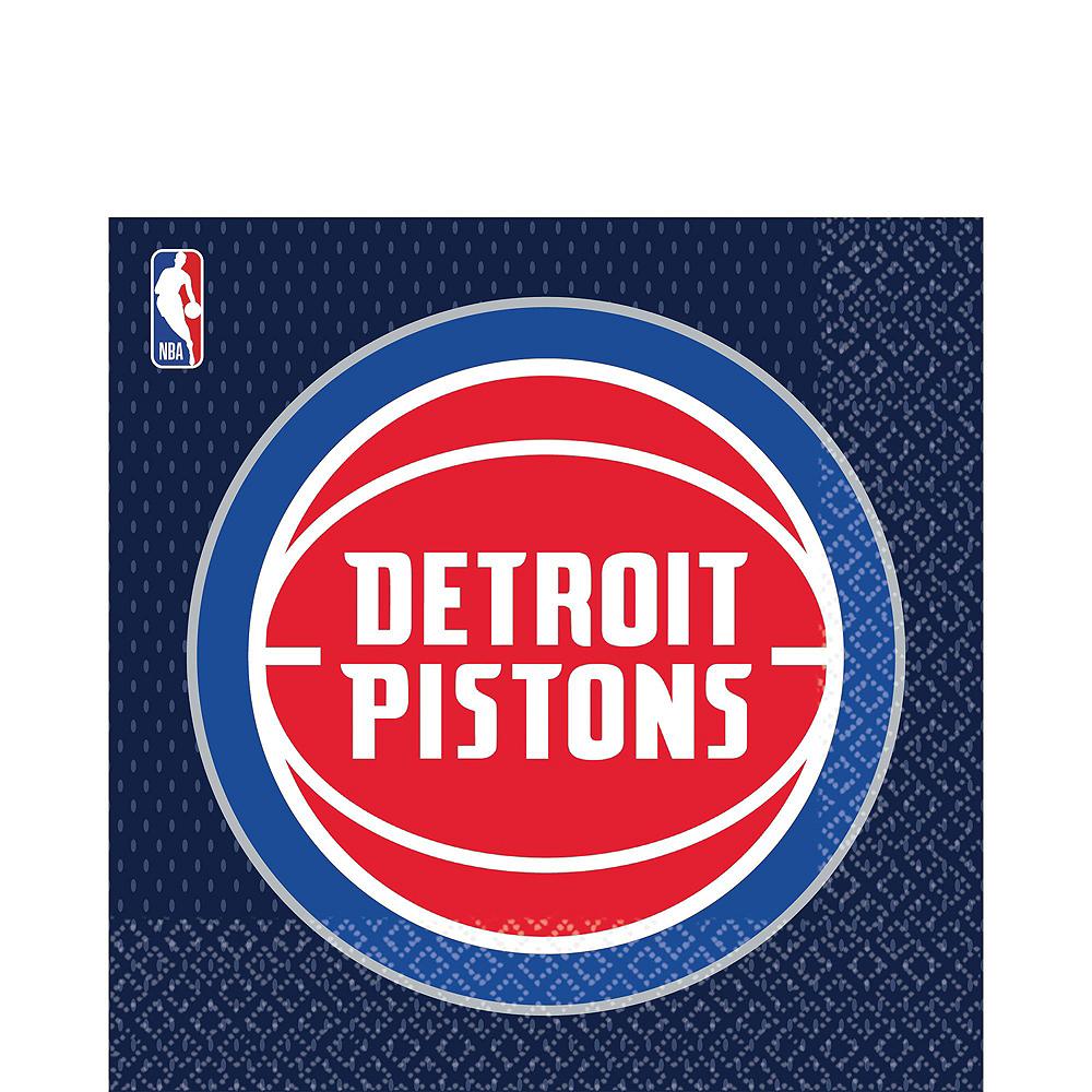 Detroit Pistons Party Kit 16 Guests Image #4